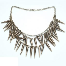 Dames retro punk Ketting