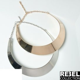 Metallic collar